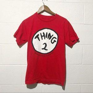 "universal studios ""Thing 2"" shirt NWOT"